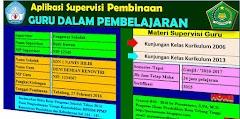 Aplikasi Supervisi Kunjungan Kelas Kurikulum 2013 dan KTSP