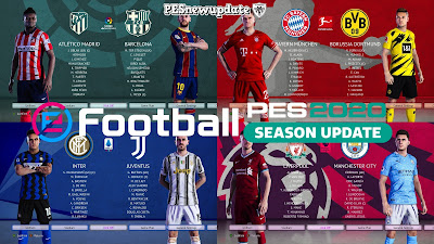 PES 2020 Custom GDB Kitpack 20/21 for Kitserver EvoWeb Patch by Stretch