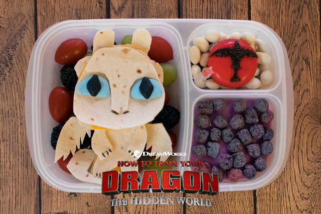 How to Train Your Dragon: The Hidden World Lunch Surprise!