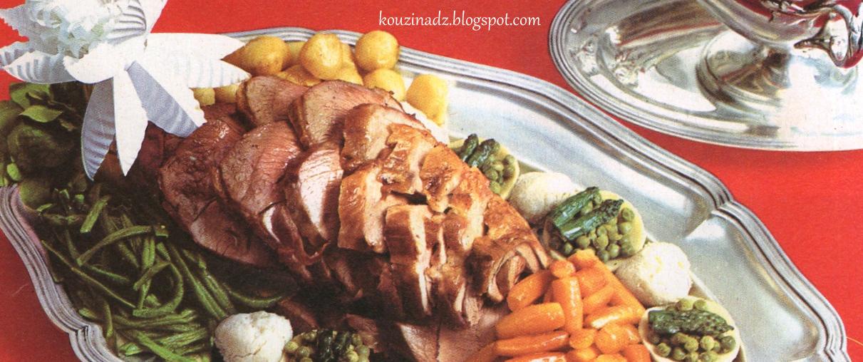 La cuisine alg rienne gigot d 39 agneau - Cuisine gigot d agneau ...