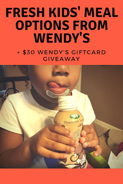 wendy's kids meals