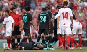 Why player  Of Sevilla  apologises for 'odious' foul on Liverpool youngster Larouci