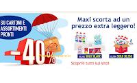 Con Casa Henkel una Maxi scorta ad un prezzo Super leggero : - 40% di sconto su cartoni e assortimenti pronti!
