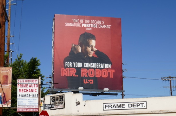 Mr Robot final season FYC billboard