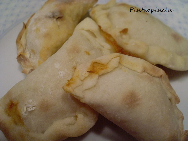 masa empanadillas sin gluten, atún, pisto, horno