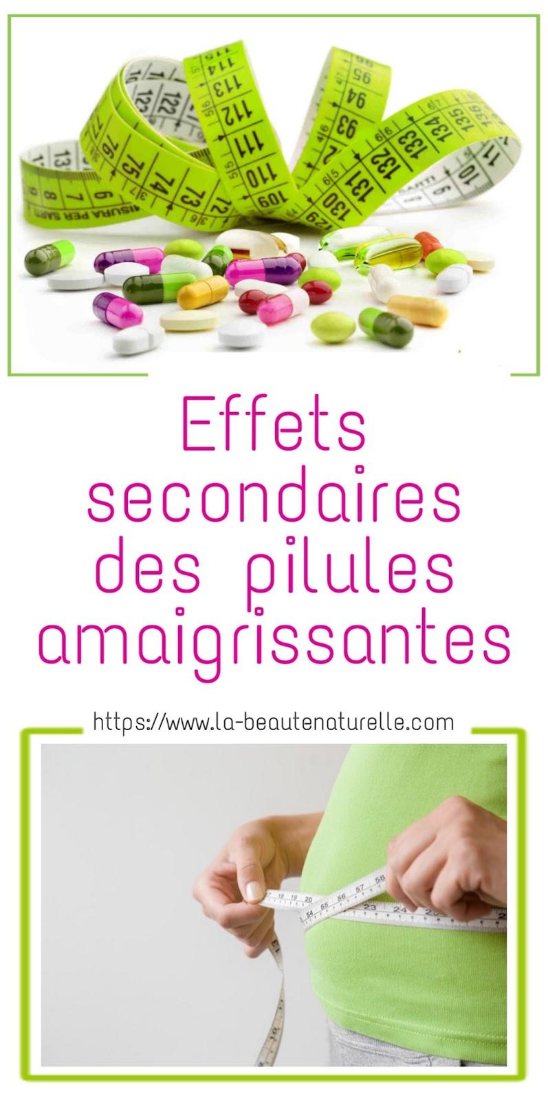 Effets secondaires des pilules amaigrissantes