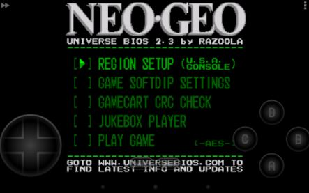 arcade emulator android neo geo