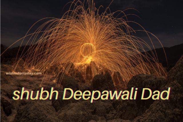 Shubh Deepawali Dad Images