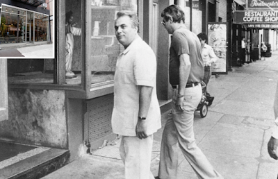 John Gotti and Joe Butch outside the Ravenite