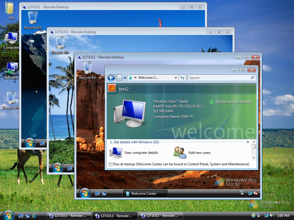 Văn Long Blog Cách Truy Cập Remote Desktop Nhiều Session Và Nhiều Users Trên Một Máy Tính Với RDP Wrapper Hệ Thống Phần Mềm Thủ Thuật Windows Server RDP