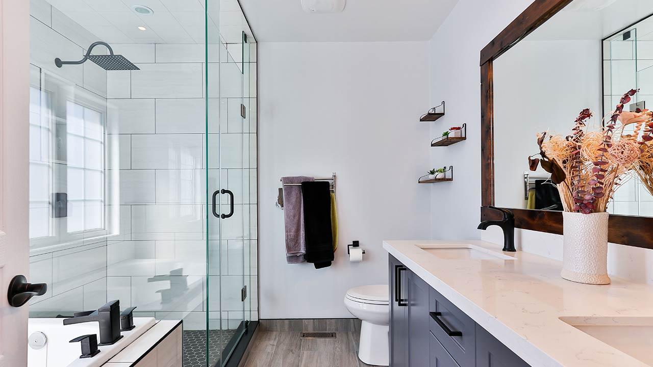 9 Amazing Space-Saving Ideas for Your Small Bathroom   Tiny Bathroom Tips