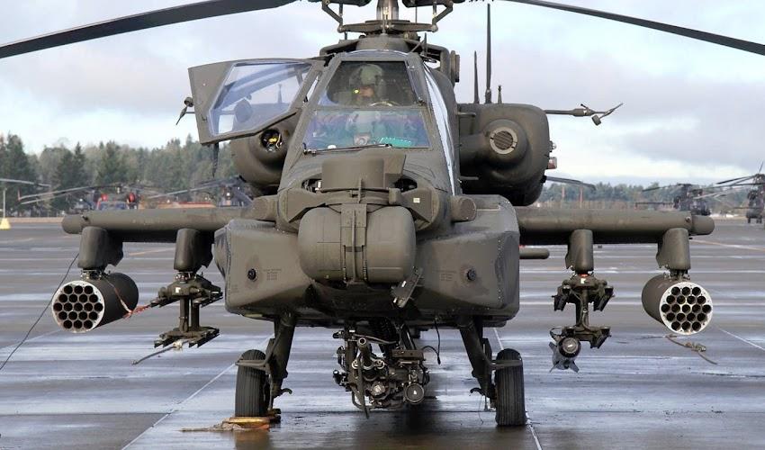 अपाचे हेलिकॉप्टरने वाढवले हवाई सामर्थ्य