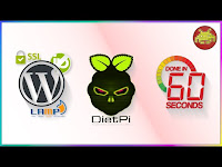 LAMP Server + NoIP + SSL + Wordpress via DietPi su Raspberry Pi in 60 secondi!