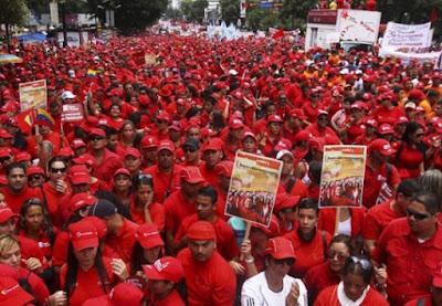 Pueblo revolucionario se moviliza para conmemorar el 13A este viernes
