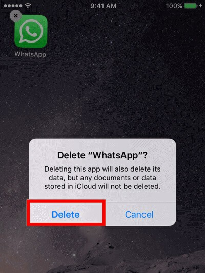 Logout WhatsApp from iPhone