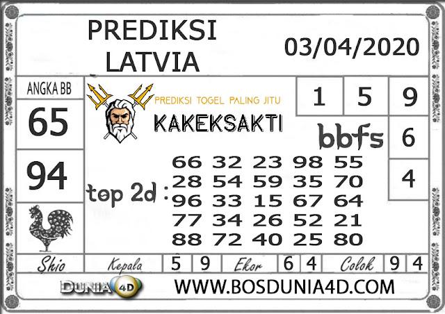 Prediksi Togel LATVIA DUNIA4D 03 APRIL 2020