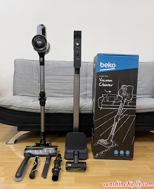 Review Beko PowerClean Cordless Vacuum Cleaner, Beko VRT94929VI, Beko Vacuum Cleaner, Home Appliances Review, Beko actiflex, vacuum review, lifestyle