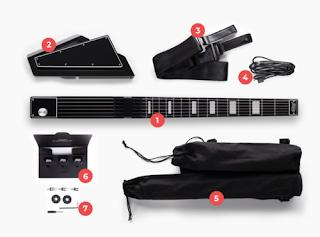 Jammy Guitar la chitarra portatile