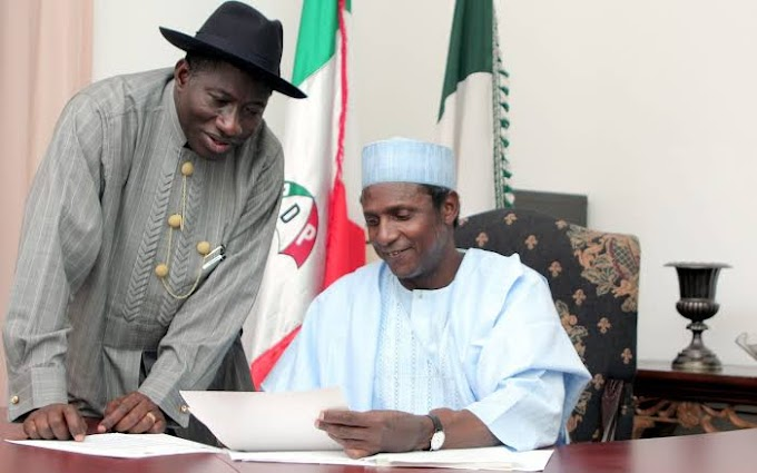 11 Years After His Death, Goodluck Jonathan Pays Tribute To Musa Yar'Adua