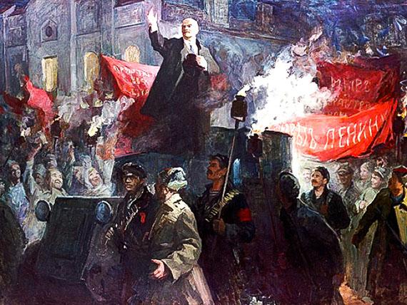 Os bolcheviques e as massas na revolução de outubro