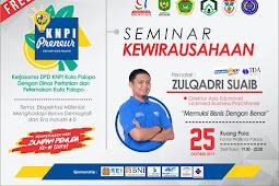 Catat tanggalnya Seminar Kewirausahaan Palopo 2019