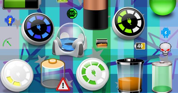 Kumpulan Icon Baterai Android Keren Terbaru
