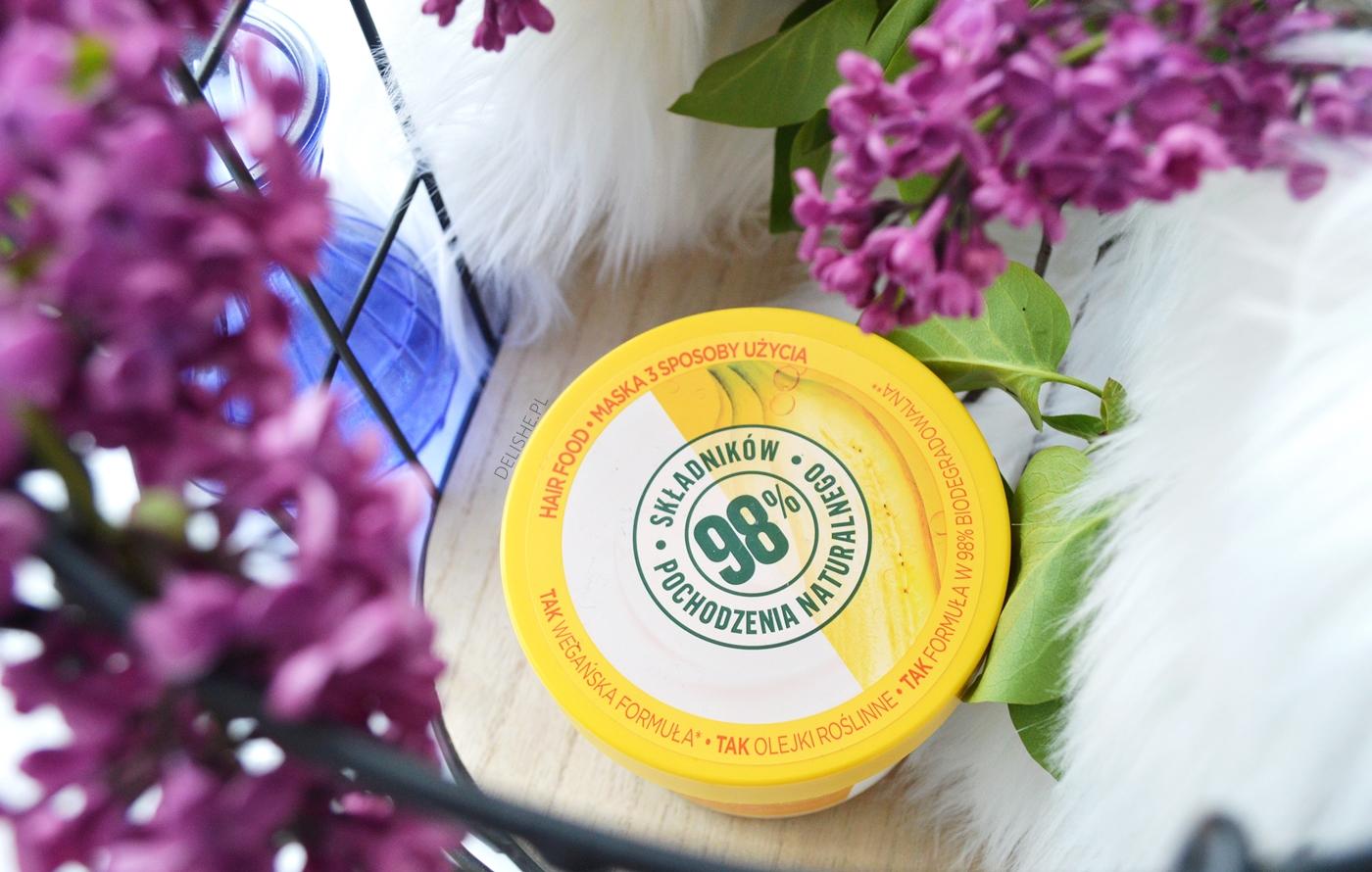 pewniaki kosmetyczne do pielęgnacji, garnier hair food banana