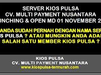 Server Kios Pulsa Resmi Launching dan Open MD
