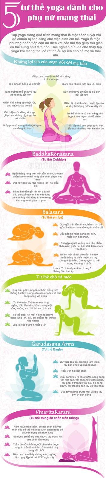 tập yoga cho phụ nữ mang thai