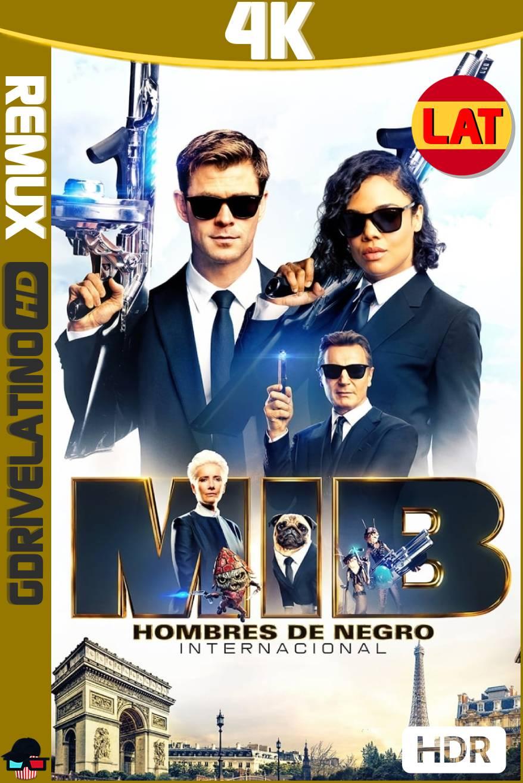 Hombres de Negro: Internacional (2019) BDRemux 4K HDR Latino-Ingles MKV