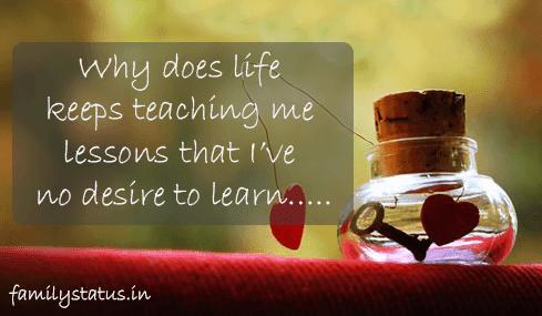 sad status about life | Sad Life Status, Captions & Sad Quotes