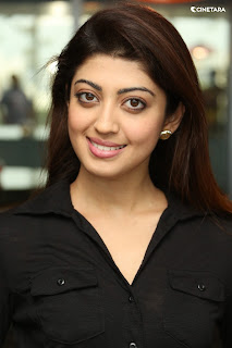 Praneetha Subhash Looks So Pretty In Black Shirt 2