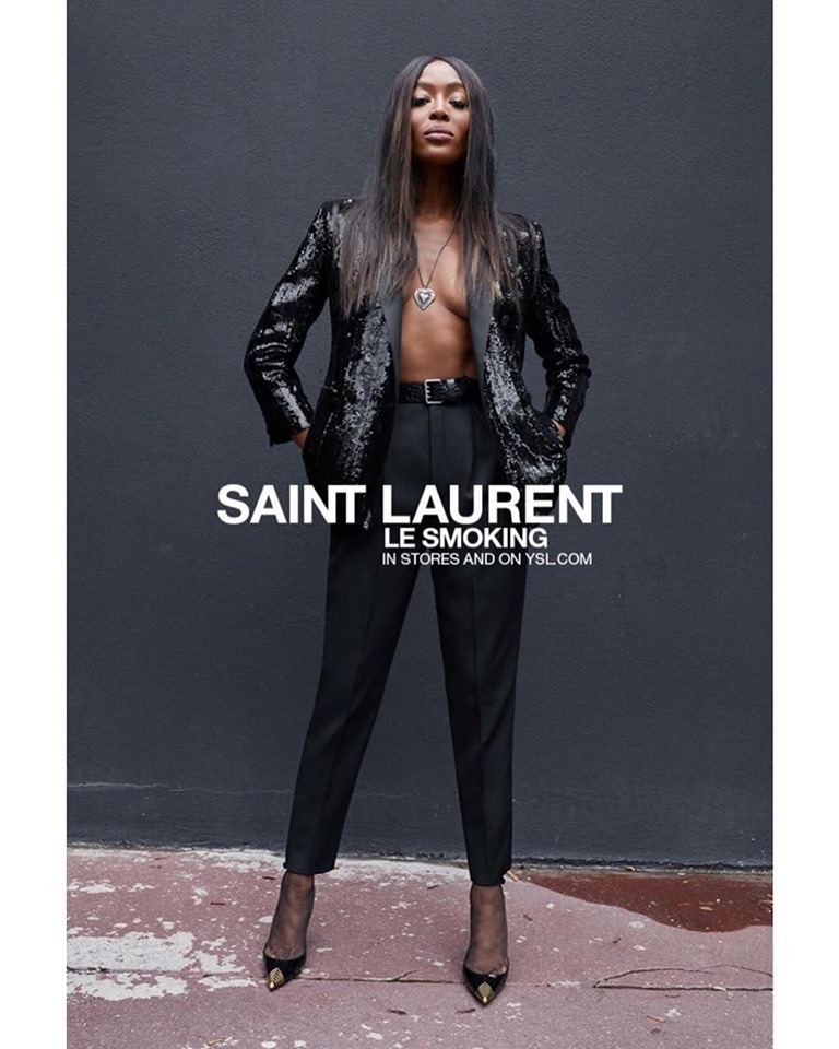 Saint Laurent Le Smoking Spring/Summer 2020 Campaign