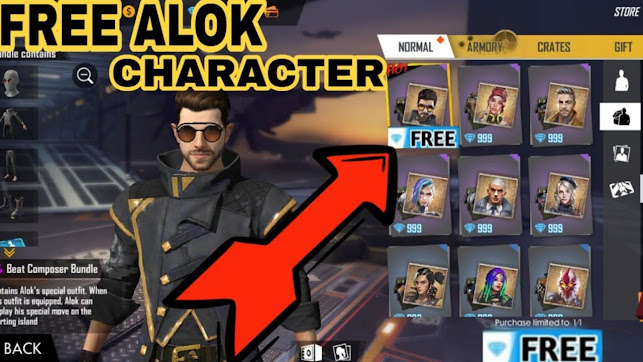 CLAIM FREE DJ ALOK CHARACTER IN 1 CLICK