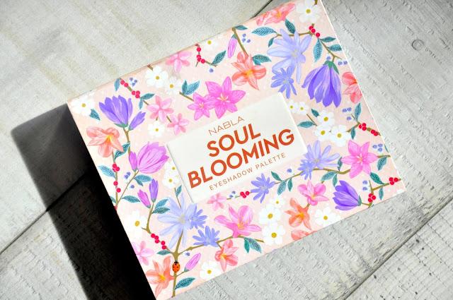 recenzja paletki cieni nabla soul blooming