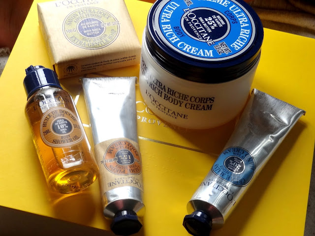 L'Occitane Nourishing Shea Butter Collection