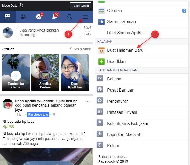 Membuat,Fanspage,facebook,lewa, Hp,Android