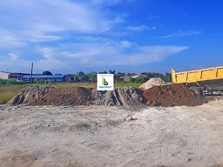 Penimbunan lahan proyek rumah harga perdana dan promo HANYA 288 Juta Di Jl. Bunga Ester Padang Bulan Medan | Bunga Ester House