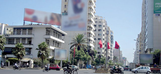 Casablanca: Panneaux publicitaires, pollution visuelle et colère royale !