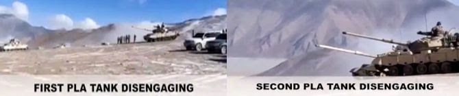 Pangong Tso: Disengagement Proceeding Smoothly, Tanks Rolled Away