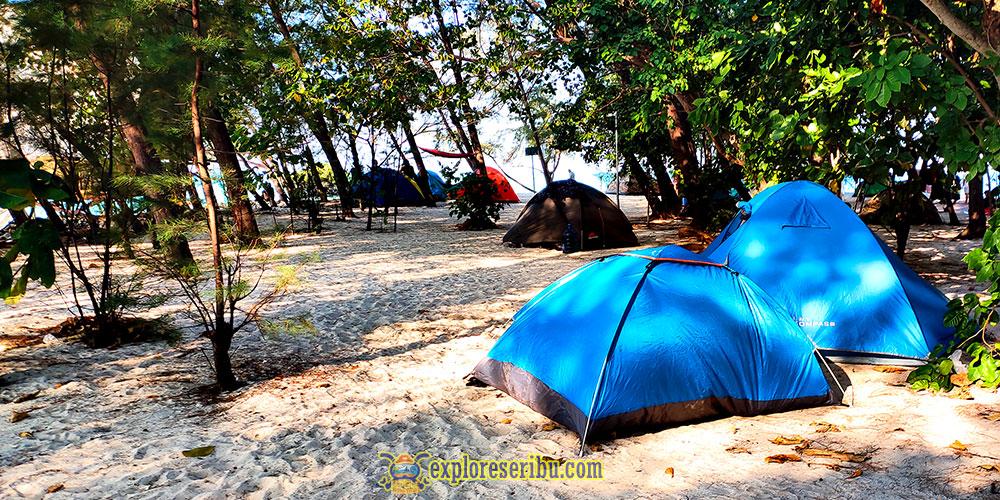 paket camping di pulau dolhin, perak dan sepa