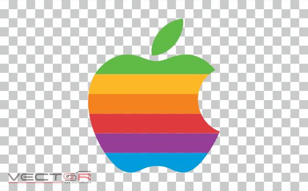 Apple (1977) Logo - Download .PNG (Portable Network Graphics) Transparent Images