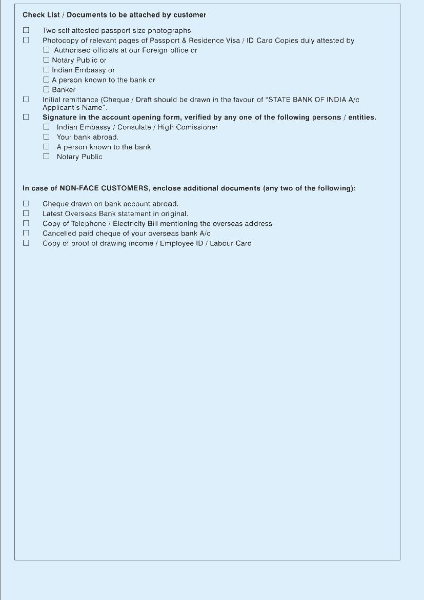 state bank of hyderabad account opening form light