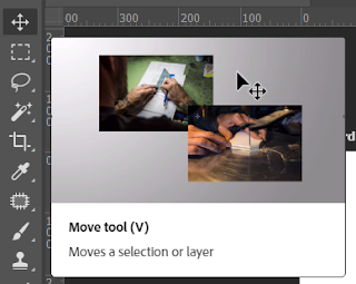 Move Tool Toolbox Adobe Photoshop