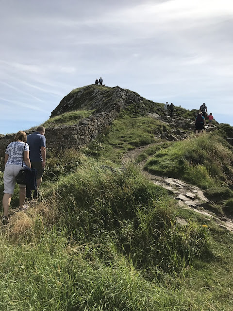 Exploring the Holy Island of Lindisfarne - Lindisfarne coastline