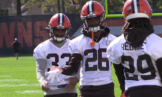 Greedy Williams pictures | Cleveland Browns nfl training