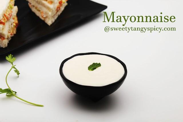 Mayonnaise Recipe - How to make mayo at home