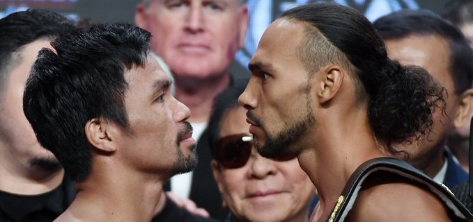 Pacquiao vs.Thurman: live updates, round by round scores and results