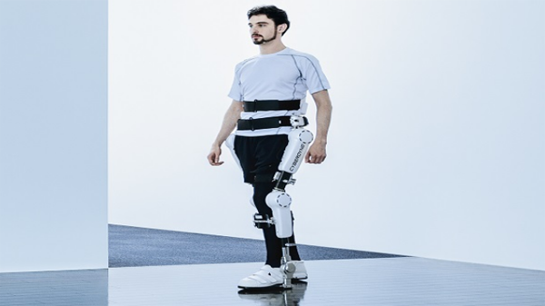 New suit for patients with disabilities disability helps them to stand and walk normally