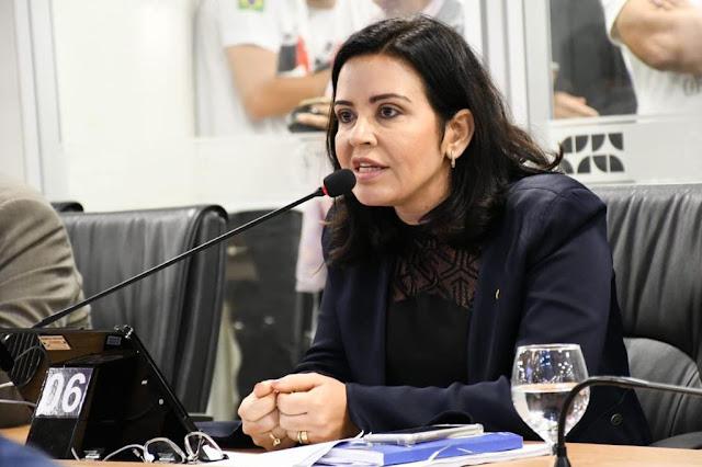 Pollyanna Dutra destina emenda para recuperação de rodovias do Sertão da Paraíba Proposta da parlamentar pede prioridade na recuperação das PBs 293 e 323